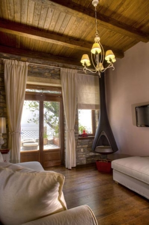 Suite Korall, Minelska Resort Luxury Suites, Pelion, Kala Nera, hotels, rooms, accommodation, Greece